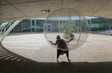 Noumène,performancelive,RolexLearningCenterEPFL,Lausanne,CH musicbydeLaurentBruttin,40min,2014, copyrightAlainHerzog