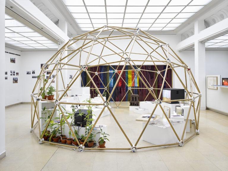 Christoph Draeger and Ursula Biemann at Shanghai Biennale